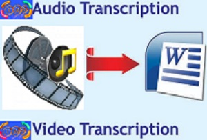 Audio Video Transcription